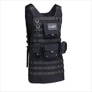 Tactical Chef Apron-Kitchen - www.Gifteee.com - Cool Gifts \ Unique Gifts - The Best Gifts for Men, Women and Kids of All Ages