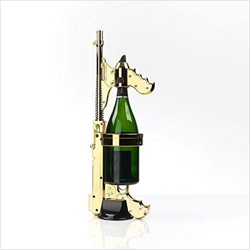Champagne gun - Find the newest innovations, cool gadgets to use at home, at the office or when traveling. amazing tech gadgets and cool geek gadgets at Gifteee Cool gifts, Unique Tech Gadgets and innovations