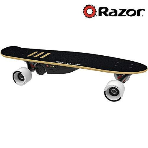 RazorX Cruiser Electric Skateboard - Find unique gifts for teen boys and young men age 12-18 year old, gifts for your son, gifts for a teenager birthday or Christmas at Gifteee Unique Gifts, Cool gifts for teenage boys