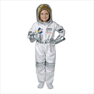 Astronaut Role Costume Set (5 pcs) - Jumpsuit, Helmet, Gloves, Name Tag-Toy - www.Gifteee.com - Cool Gifts \ Unique Gifts - The Best Gifts for Men, Women and Kids of All Ages