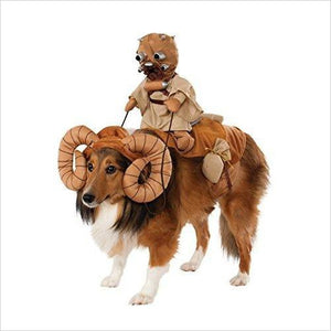 Star Wars Bantha Costume for Pets - Find unique gifts for Star Wars fans, new star wars games and Star wars LEGO sets, star wars collectibles, star wars gadgets and kitchen accessories at Gifteee Cool gifts, Unique Gifts for Star Wars fans
