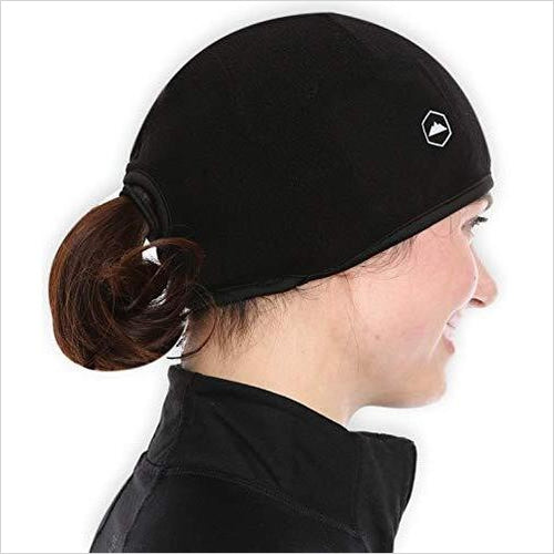 Beanie with Ear Covers -Thermal Retention - Fits Under Helmets-Apparel - www.Gifteee.com - Cool Gifts \ Unique Gifts - The Best Gifts for Men, Women and Kids of All Ages