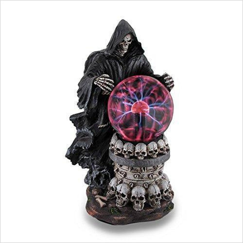 Destroyer Of Worlds Grim Reaper Plasma Crystal Ball - Gifteee. Find cool & unique gifts for men, women and kids