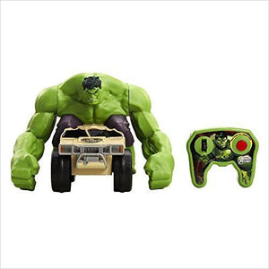 Avengers: XPV Marvel-RC Hulk Smash Toy Vehicle - Find unique gifts for superhero fans, the avengers, DC, marvel fans all super villians and super heroes gift ideas, games collectibles and gadgets at Gifteee Cool gifts, Unique Gifts for comic book fans
