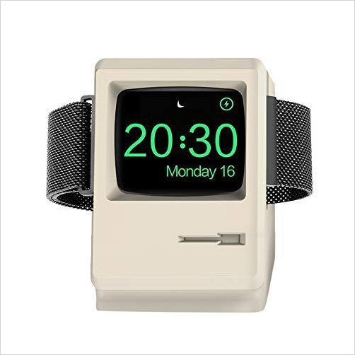 1984 Mac Apple iWatch Stand Charger - Gifteee. Find cool & unique gifts for men, women and kids