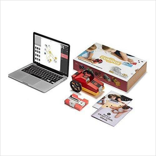 Curious Cars Kit - Educational STEM Toy - Race and Play-stem car kit - www.Gifteee.com - Cool Gifts \ Unique Gifts - The Best Gifts for Men, Women and Kids of All Ages