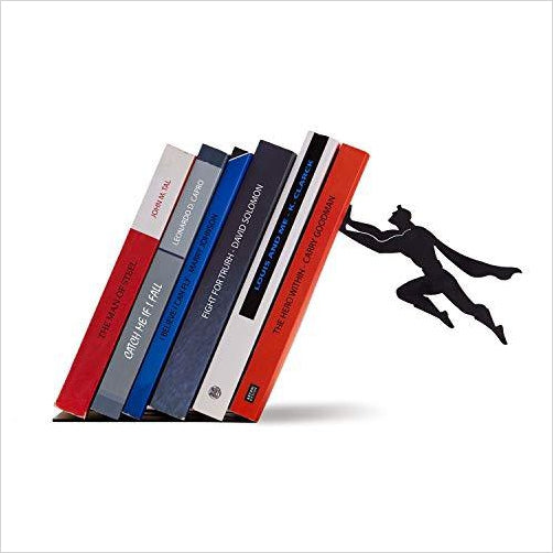 Superhero Bookend - Find unique gifts for superhero fans, the avengers, DC, marvel fans all super villians and super heroes gift ideas, games collectibles and gadgets at Gifteee Cool gifts, Unique Gifts for comic book fans