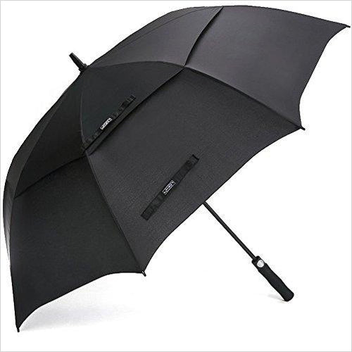 62 Inch Large Vented Umbrella-Sports - www.Gifteee.com - Cool Gifts \ Unique Gifts - The Best Gifts for Men, Women and Kids of All Ages