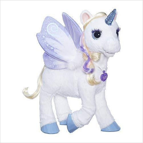 My Magical Unicorn - FurReal Friends StarLily - Find Unicorn gifts for girls and unicorn gifts for women, magical unicorn gifts ideas - jewelry, clothing, accessories and games at Gifteee Unique Gifts, Cool gifts for unicorn lovers