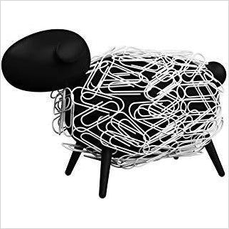 Sheepi - Magnetic Paper Clip Holder - Find unique decor gifts for the office and workplace, get cool gadgets for your office desk and cubicle at Gifteee Cool gifts, Unique decor Gifts for the office and workplace