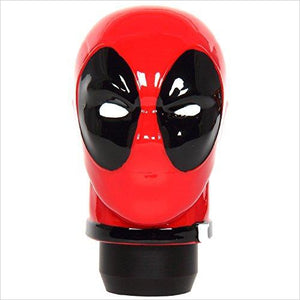 Deadpool Shift Knob - Universal Fit-Automotive Parts and Accessories - www.Gifteee.com - Cool Gifts \ Unique Gifts - The Best Gifts for Men, Women and Kids of All Ages