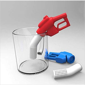 Fuel Gun Tea Infusers - Find funny gift ideas, the best gag gifts, gifts for pranksters that will make everybody laugh out loud at Gifteee Cool gifts, Funny gag Gifts for adults and kids