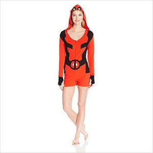 Marvel Women's Deadpool Romper-Apparel - www.Gifteee.com - Cool Gifts \ Unique Gifts - The Best Gifts for Men, Women and Kids of All Ages