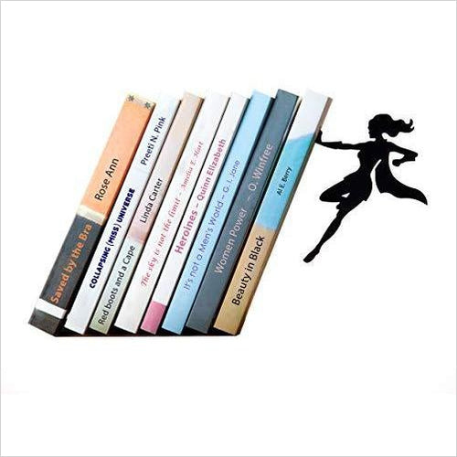Superwoman Bookend-Home - www.Gifteee.com - Cool Gifts \ Unique Gifts - The Best Gifts for Men, Women and Kids of All Ages