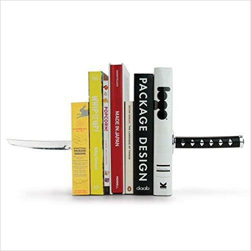Katana Samurai Sword Bookends - Gifteee. Find cool & unique gifts for men, women and kids