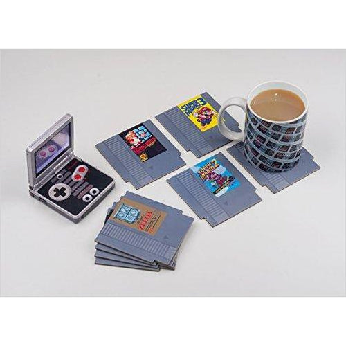 Nintendo NES Cartridge Coasters for Drinks - Find unique gifts for gamers Xbox, Play Stations, PS, PSP, Nintendo switch and more at Gifteee Unique Gifts, Cool gifts for gamers