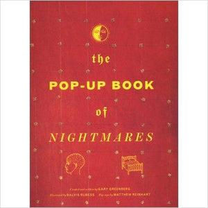 The Pop-Up Book of Nightmares - Find scary gifts for Halloween, disgusting gifts for horror, weird gifts for oddity lovers and some firefighting special effects lovers at Gifteee Cool gifts, Unique Gifts for Halloween