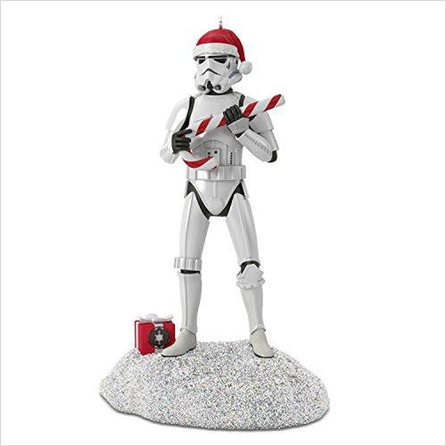 Star Wars Stormtrooper Motion-Activated Sound Christmas Ornament - Find unique gifts for Star Wars fans, new star wars games and Star wars LEGO sets, star wars collectibles, star wars gadgets and kitchen accessories at Gifteee Cool gifts, Unique Gifts for Star Wars fans