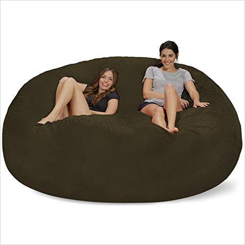 Giant 8 foot Bean Bag - Find unique gifts for teen girl and young women age 12-18 year old, gifts for your daughter, gifts for a teenager birthday or Christmas at Gifteee Unique Gifts, Cool gifts for teenage girls