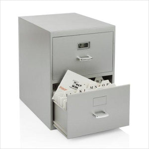 Miniature File Cabinet for Business Cards-Home - www.Gifteee.com - Cool Gifts \ Unique Gifts - The Best Gifts for Men, Women and Kids of All Ages
