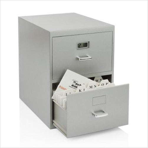 Miniature File Cabinet for Business Cards - Find unique decor gifts for the office and workplace, get cool gadgets for your office desk and cubicle at Gifteee Cool gifts, Unique decor Gifts for the office and workplace