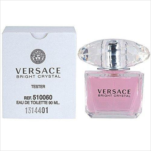 VERSACE Bright Crystal Eau De Toilette Spray-Beauty - www.Gifteee.com - Cool Gifts \ Unique Gifts - The Best Gifts for Men, Women and Kids of All Ages