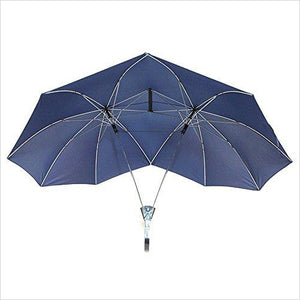 Two Person Umbrella-Lawn & Patio - www.Gifteee.com - Cool Gifts \ Unique Gifts - The Best Gifts for Men, Women and Kids of All Ages