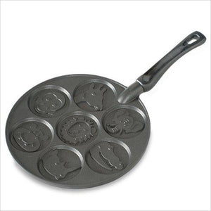 Zoo Friends Pancake Pan-Kitchen - www.Gifteee.com - Cool Gifts \ Unique Gifts - The Best Gifts for Men, Women and Kids of All Ages