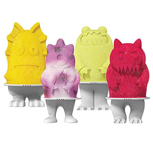 Monsters Ice Pop Molds - Find scary gifts for Halloween, disgusting gifts for horror, weird gifts for oddity lovers and some firefighting special effects lovers at Gifteee Cool gifts, Unique Gifts for Halloween