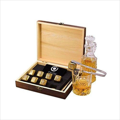 Whiskey Stones-Kitchen - www.Gifteee.com - Cool Gifts \ Unique Gifts - The Best Gifts for Men, Women and Kids of All Ages