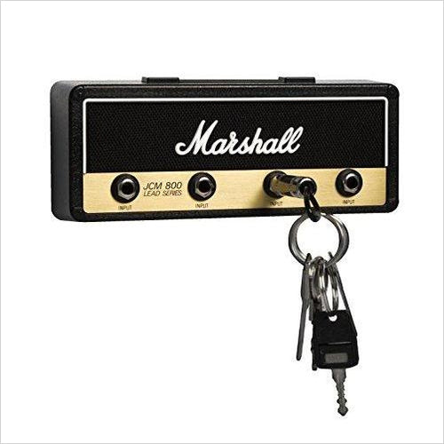 Wall mounted guitar amp key holder-key holder - www.Gifteee.com - Cool Gifts \ Unique Gifts - The Best Gifts for Men, Women and Kids of All Ages