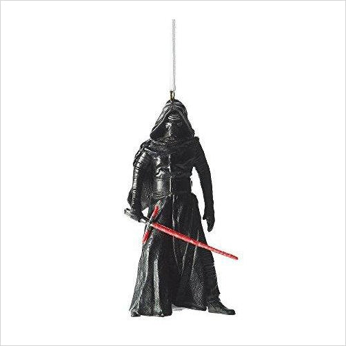 Star Wars Episode VII Kylo Ren Ornament - Find unique gifts for Star Wars fans, new star wars games and Star wars LEGO sets, star wars collectibles, star wars gadgets and kitchen accessories at Gifteee Cool gifts, Unique Gifts for Star Wars fans