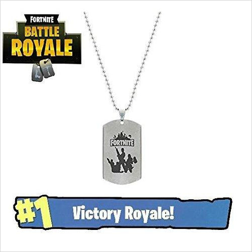 Fortnite Dog Tags-dog tags - www.Gifteee.com - Cool Gifts \ Unique Gifts - The Best Gifts for Men, Women and Kids of All Ages