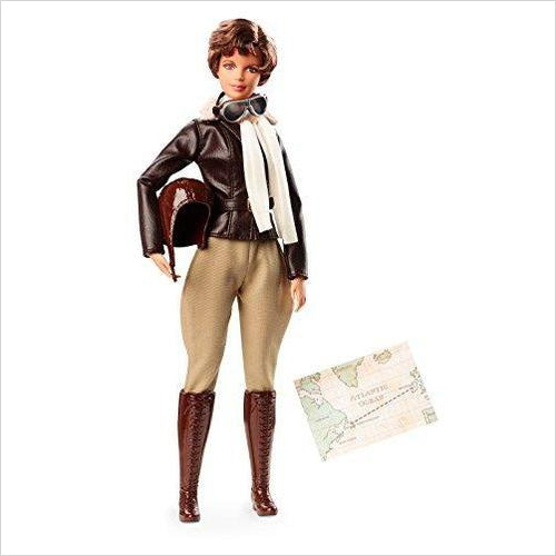 Barbie Inspiring Women Amelia Earhart Doll - Find the most unique and unusual gifts. Weird gifts ideas that you never saw before. unusual gadgets, unique products that simply very odd at Gifteee Odd gifts, Unusual Gift ideas