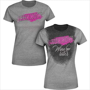 Sweat Activated Women's Gym Shirt | Run Now...-Apparel - www.Gifteee.com - Cool Gifts \ Unique Gifts - The Best Gifts for Men, Women and Kids of All Ages