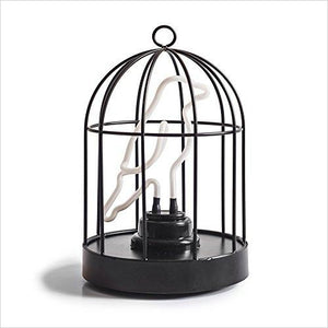 Birdcage Lamp-Home - www.Gifteee.com - Cool Gifts \ Unique Gifts - The Best Gifts for Men, Women and Kids of All Ages