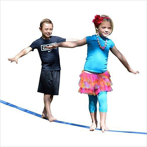 Beginner Slackline-Sports - www.Gifteee.com - Cool Gifts \ Unique Gifts - The Best Gifts for Men, Women and Kids of All Ages