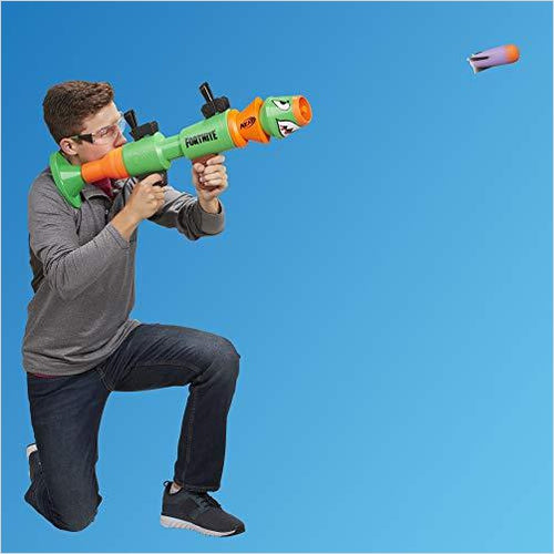 NERF Fortnite Rl Foam Blaster - Includes 2 Official Fortnite Rockets - Gifteee. Find cool & unique gifts for men, women and kids