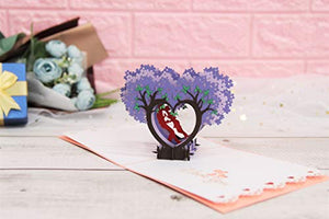 Love Pop Up Card - Find unique love and romance gifts, special gifts for Valentine's day, beautiful gifts for your girl friend to spread love into the air at Gifteee Cool gifts, Unique Gifts for Valentine's day