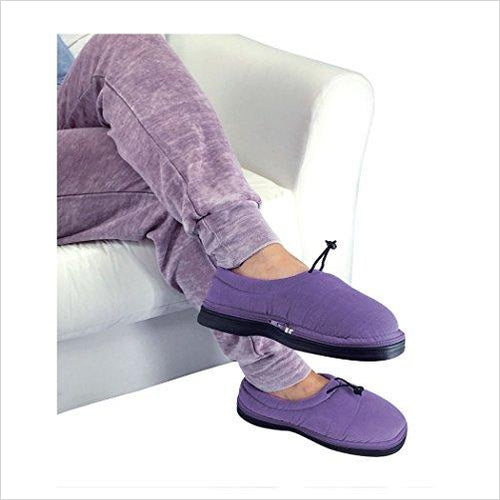 Microwave Heated Slippers-Health and Beauty - www.Gifteee.com - Cool Gifts \ Unique Gifts - The Best Gifts for Men, Women and Kids of All Ages