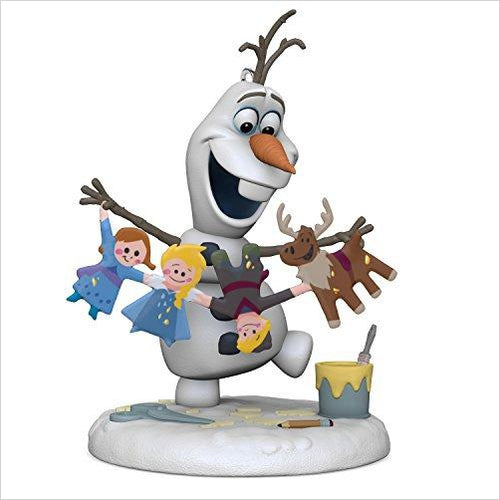 Disney Olaf's Frozen Adventure Christmas Ornament-Home - www.Gifteee.com - Cool Gifts \ Unique Gifts - The Best Gifts for Men, Women and Kids of All Ages