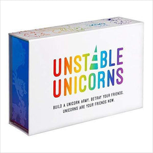 Unstable Unicorns Base Game-Toy - www.Gifteee.com - Cool Gifts \ Unique Gifts - The Best Gifts for Men, Women and Kids of All Ages
