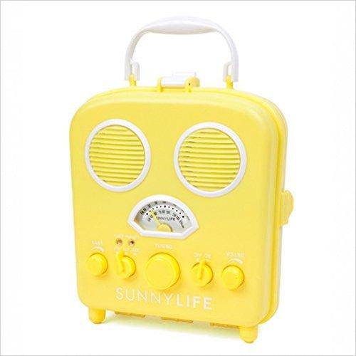 Sunnylife Beach Sound Portable Speakers / Radio - Gifteee. Find cool & unique gifts for men, women and kids