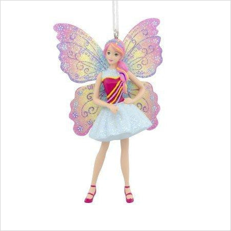 Butterfly Barbie Christmas Ornament-Home - www.Gifteee.com - Cool Gifts \ Unique Gifts - The Best Gifts for Men, Women and Kids of All Ages