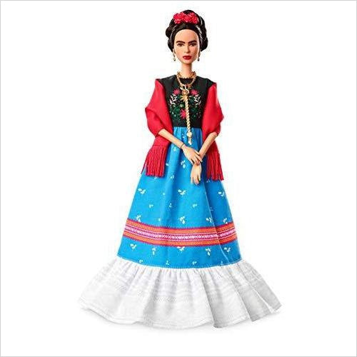 Barbie Inspiring Women Frida Kahlo Doll-Toy - www.Gifteee.com - Cool Gifts \ Unique Gifts - The Best Gifts for Men, Women and Kids of All Ages