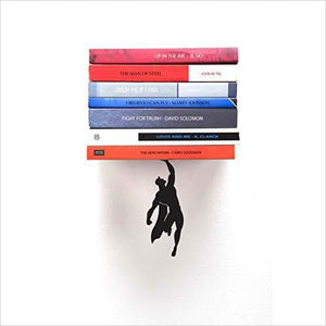 Superman Floating Bookshelf-Home - www.Gifteee.com - Cool Gifts \ Unique Gifts - The Best Gifts for Men, Women and Kids of All Ages