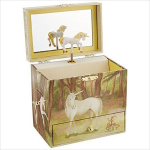 Unicorn Music Jewelry Box - Find unique for sound lovers, for music fans, for musicians, composers and everybody that love unique sound related gifts at Gifteee Cool gifts, Unique Gifts for sound and music