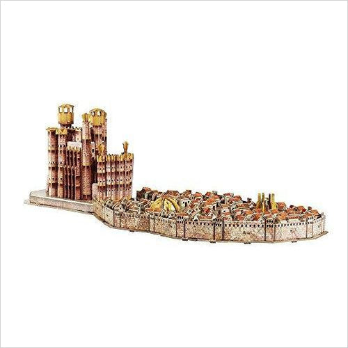 4D Cityscape Game of Thrones 3D Puzzle of King's Landing (260-Piece) - Gifteee. Find cool & unique gifts for men, women and kids
