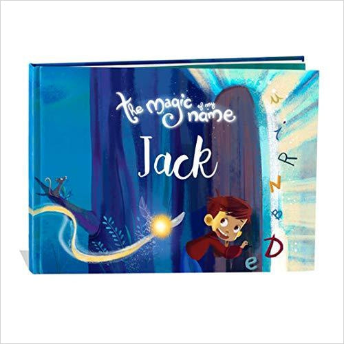 The Magic of my Name : Personalized Children's Book-Baby Product - www.Gifteee.com - Cool Gifts \ Unique Gifts - The Best Gifts for Men, Women and Kids of All Ages