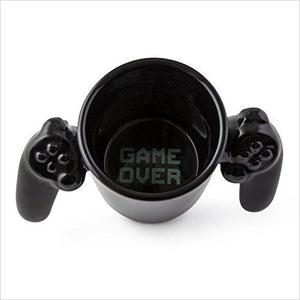 Game Over Ceramic Mug-Kitchen - www.Gifteee.com - Cool Gifts \ Unique Gifts - The Best Gifts for Men, Women and Kids of All Ages